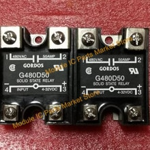 FREE SHIPPING G480D50 DC-IN 50A 480V AC-OUT Solid State Relay Module