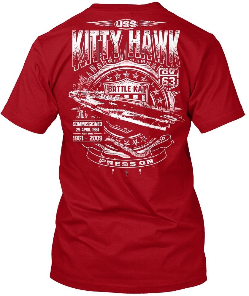 Men t shirt Limited Edition USS Kitty Hawk Shirts! tshirts Women t-shirt