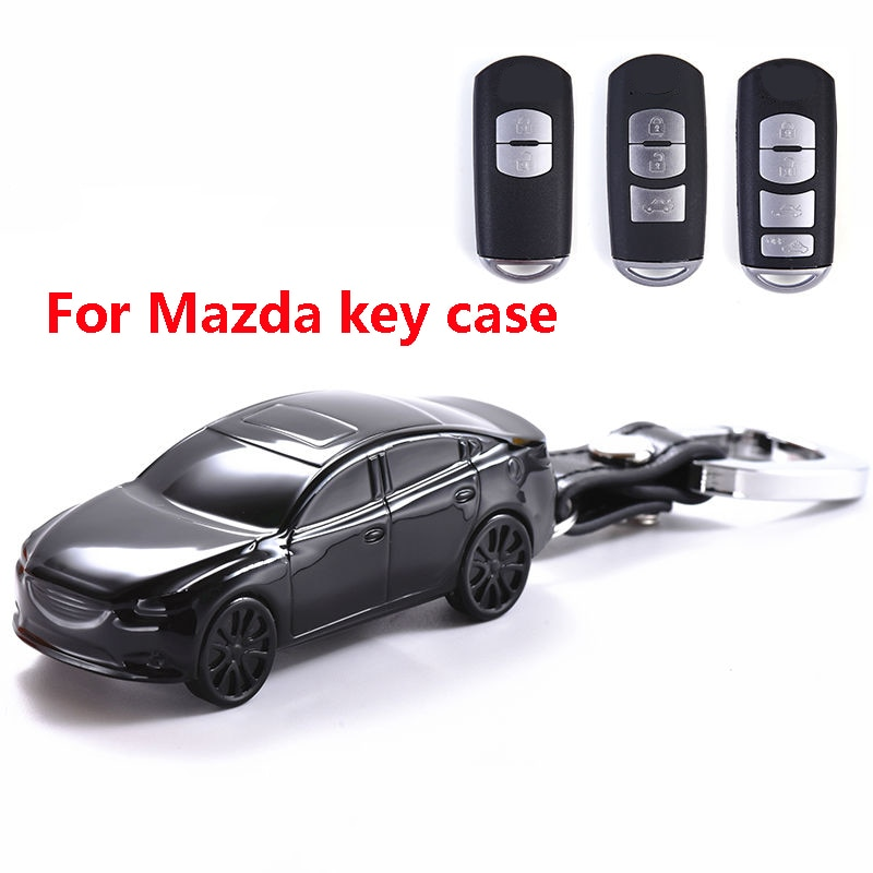 Чехол для ключа автомобиля, чехол для Mazda 2 3 5 6 BM BN 6 GH GJ GL CX-3 DK CX-4 GK CX-5 KE GH KF CX-8 KG MX-5 IV Targa Atenza Axela
