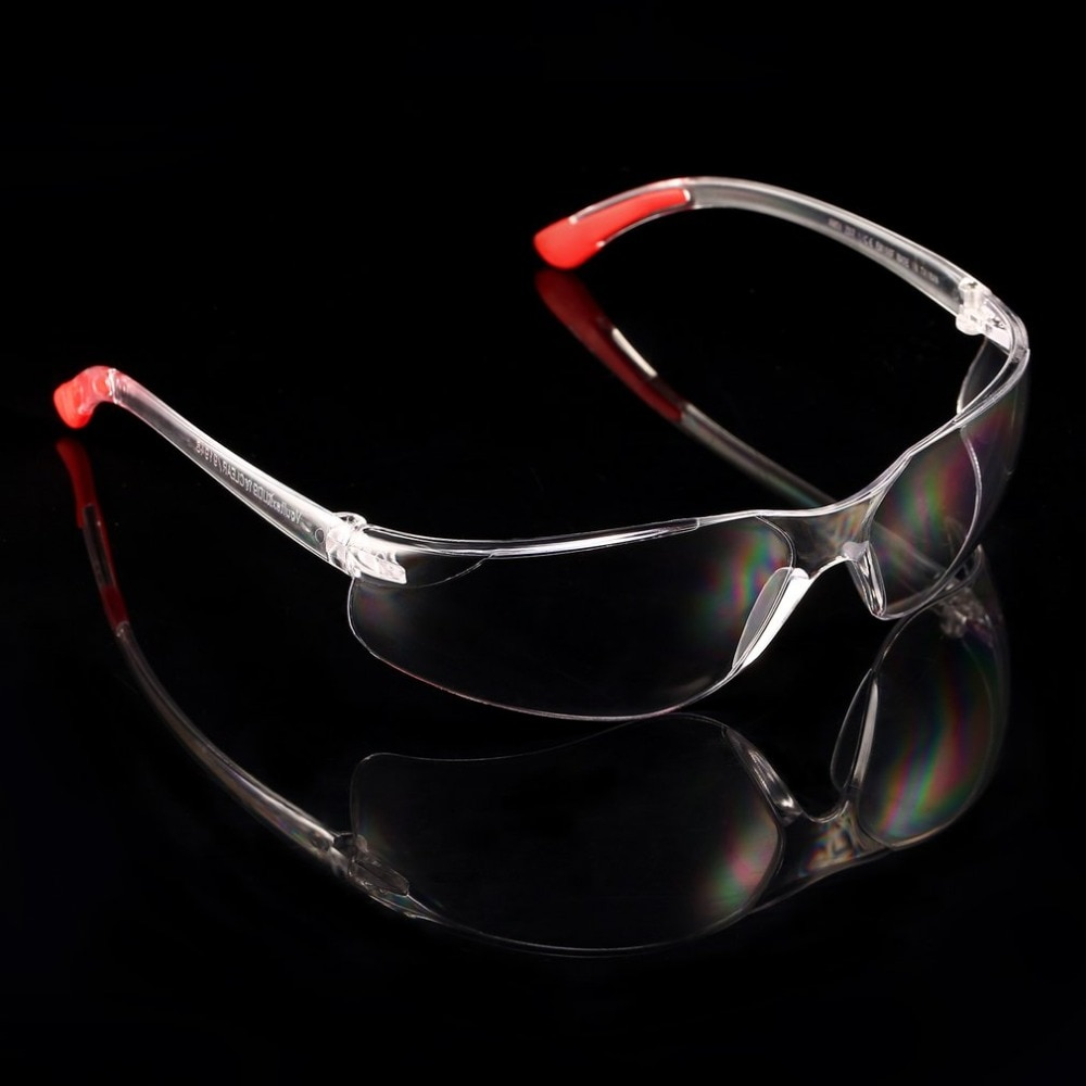 Safety Protective Glasses Transparent Safety Goggles Lab Eye Protection Eyewear Clear Lens Workplace Safety Goggles Supplies