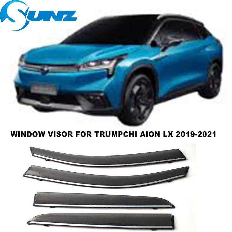 Side Window Visor For Trumpchi AION LX 2019 2020 2021 Window Rain Guards Weathershilds Sun Rain Deflector SUNZ
