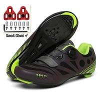 ultralight single buttons cycling shoes road luminous mtb bike shoes self locking bicycle cleat shoes professional sneakers men