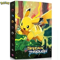 New Come Trading Card Storage Album Pages Card Collector Holders Perfect for Pokemon Put up to 240 Cards