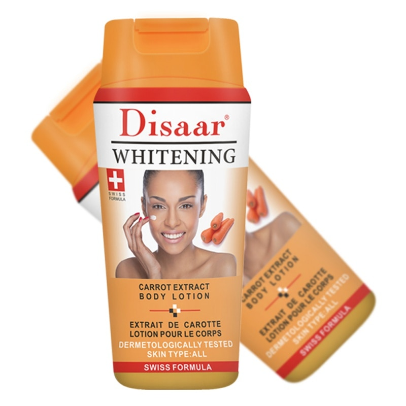 Extracto de zanahoria/Snial loción corporal hidratante Crema Corporal antisecado problemas de piel solución para hacer la belleza salud de la piel-