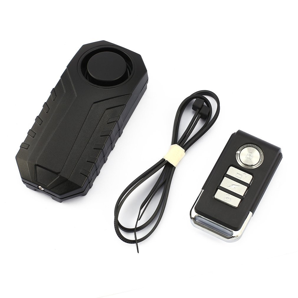 Waterproof Remote Control Bike Motorcycle Electric Car Vehicle Security Anti Lost Remind Vibration Warning Alarm Sensor