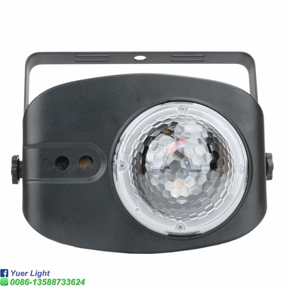 48 узоров RGBW 4IN1 сцена свет голос управление музыка светодиод DJ дискотека свет вечеринка шоу пламя лазер проектор свет эффект лампа