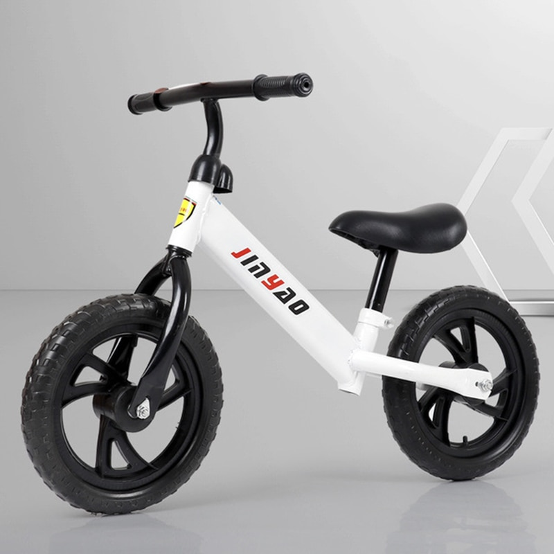 Kids Balance Bike No Pedals Height Adjustable Bicycle Riding Walking Learning Scooter with 360° rotatable handlebar infant shining two wheels balance bike 4 6 years old children walker 12 inch riding bicycle height adjustable kids scooter
