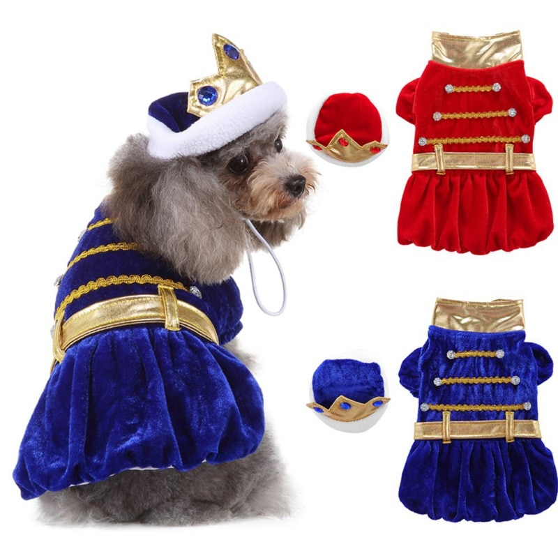 nacoco dog suit pet gents costume formal dress clothes with bow tie halloween gentleman costumes for puppy and cat 2021 New Puppy Halloween Fire Suit Pet Dog Dress Up Clothes Lovely Dogs Hat Home Pets Cosplay Costumes