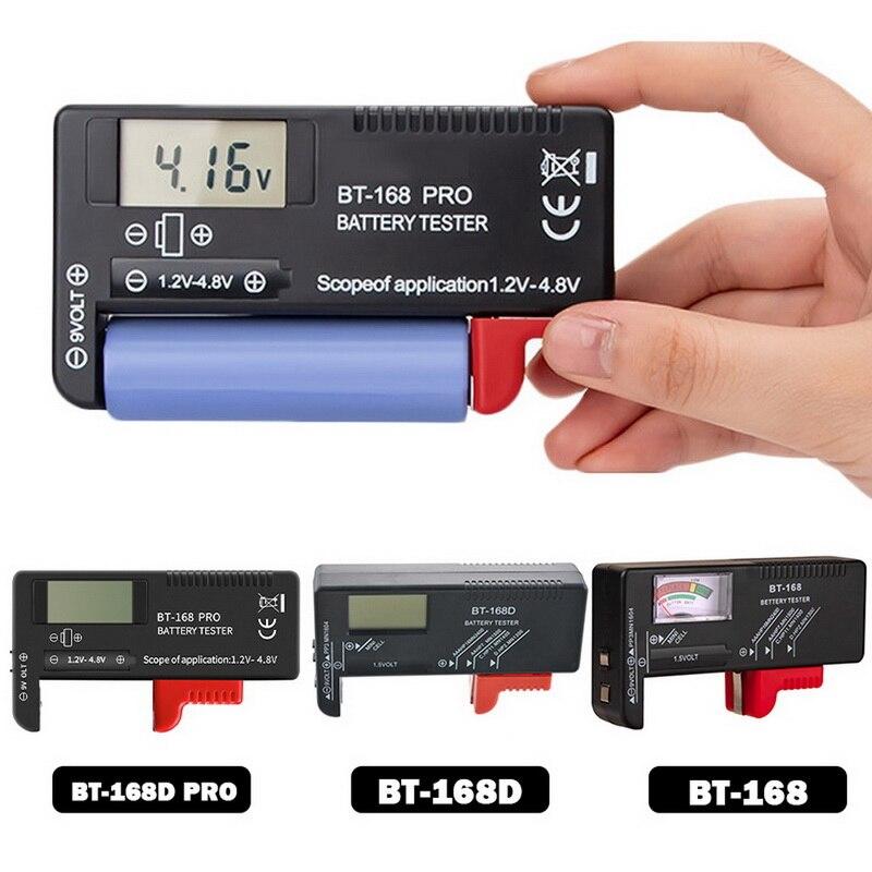 Цифровой тестер емкости аккумуляторов BT-168 PRO 168D, универсальный тестер емкости аккумуляторов, 1 шт.