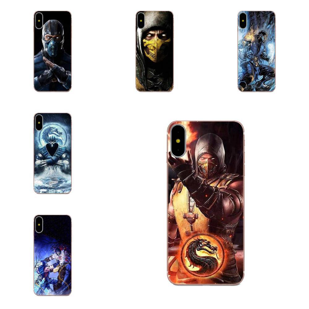 TPU caso de la cubierta a la moda de Mortal Kombat Kitana para Huawei Honor amigo Nova Nota 20 20s 30 5 5I 5T 6 7I 7C 8A 8X 9X 10 Pro Lite jugar