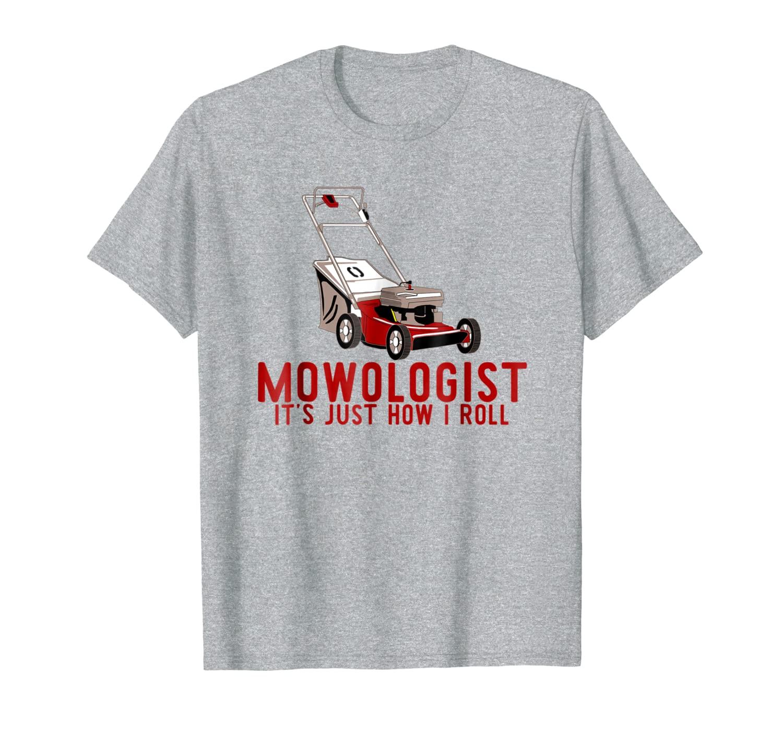 Mowology-это именно то, как я скручиваю рубашку, забавная газонокосилка