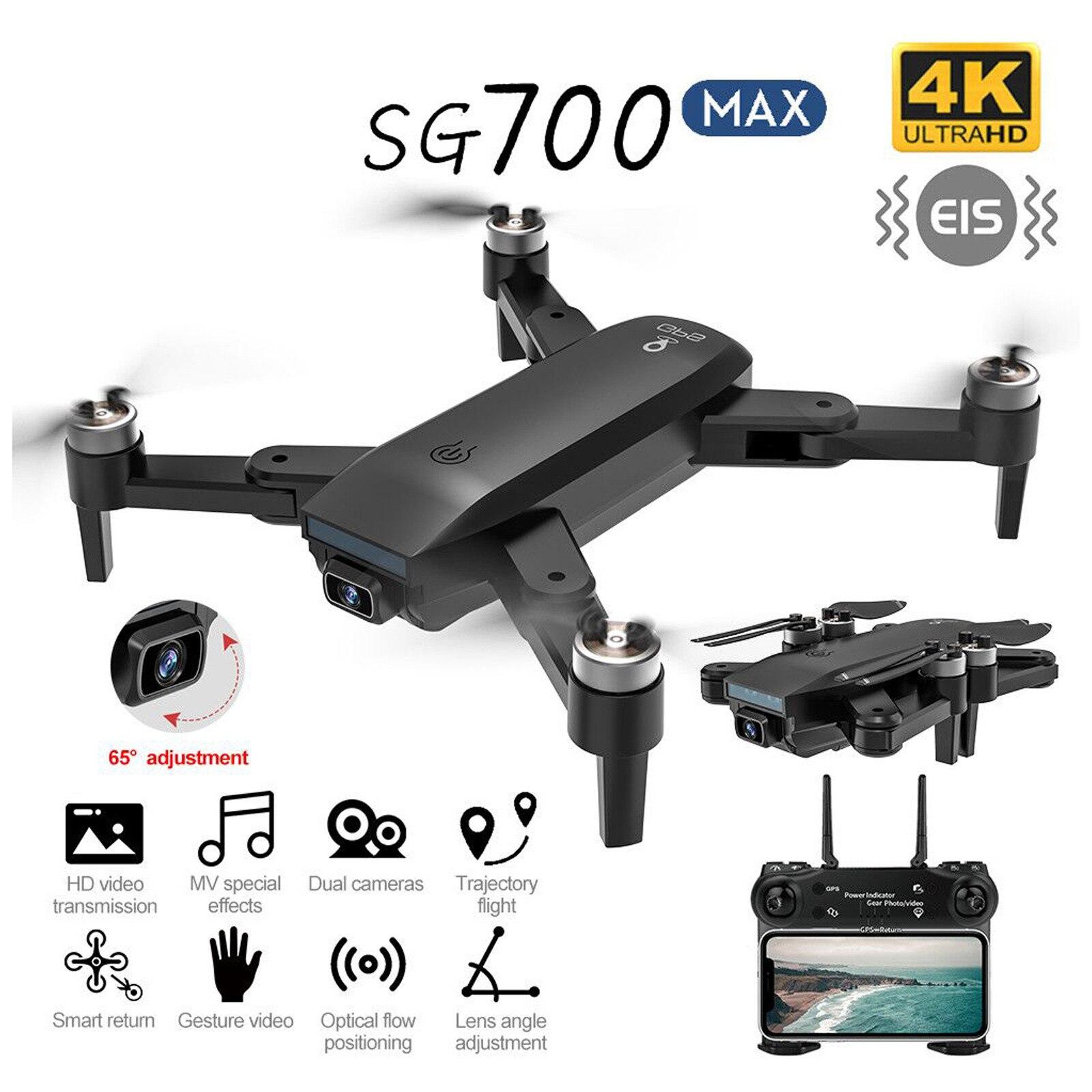 SG700 برو ماكس لتحديد المواقع بدون طيار مع 4K HD كاميرا 5G واي فاي فيديو FPV رباعية RC المسافة 1 كجم فرش السيارات طوي كوادكوبتر درون