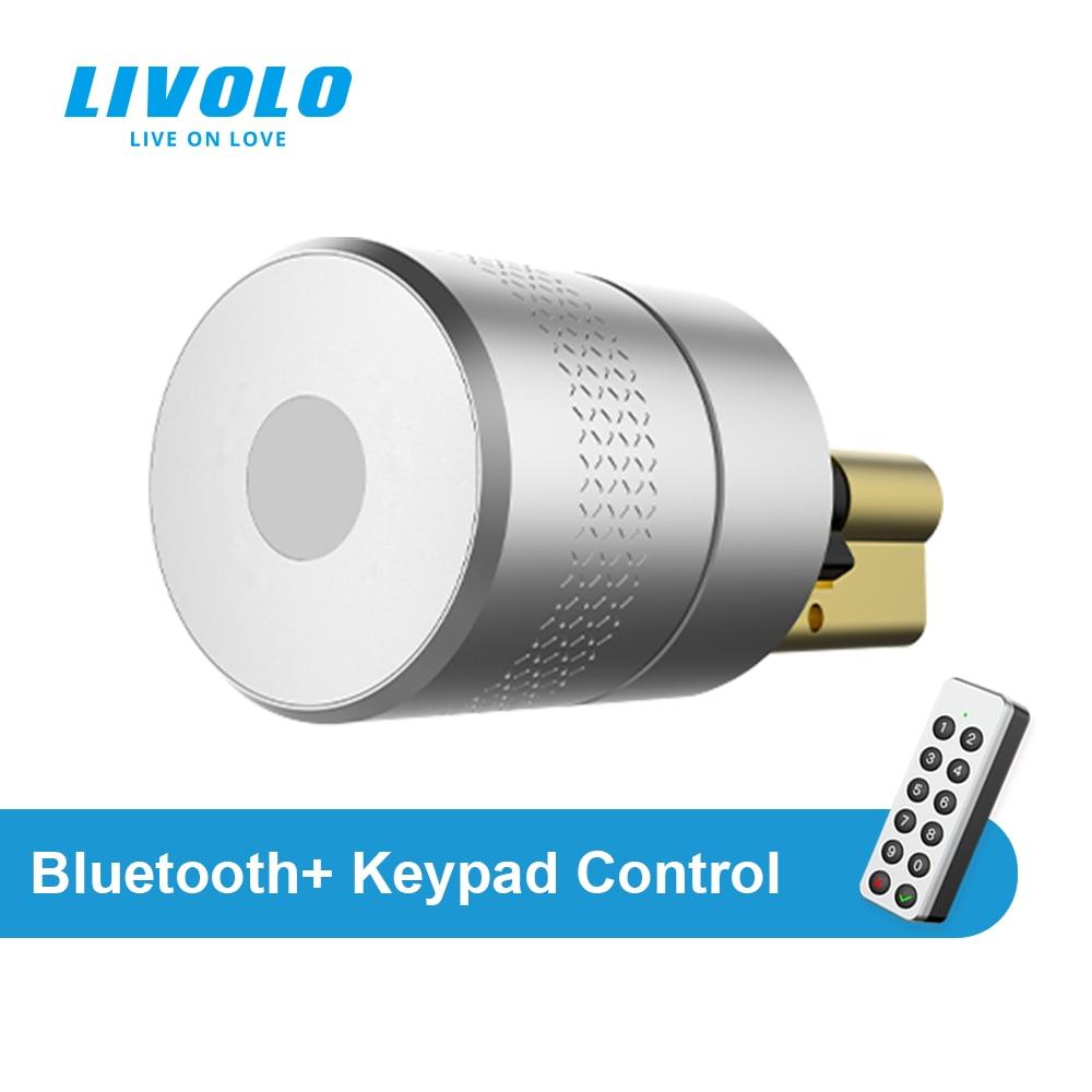 LIVOLO الذكية بلوتوث M500 الاتحاد الأوروبي القياسية قفل ، بطارية ليثيوم ، USB تهمة ، هاتف ذكي التحكم عن بعد بلوتوث