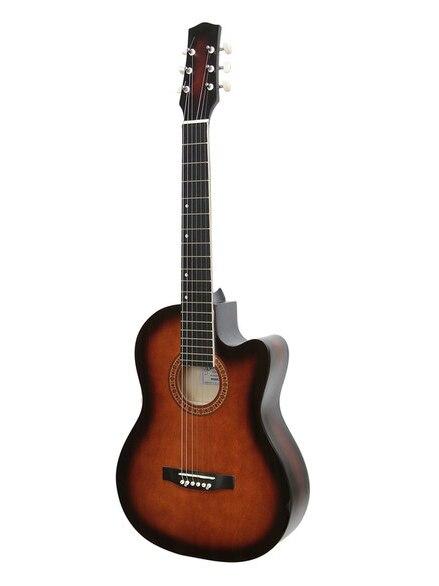Guitarra acústica de M-32-sb, recorte, sanberst, mate, AMISTAR