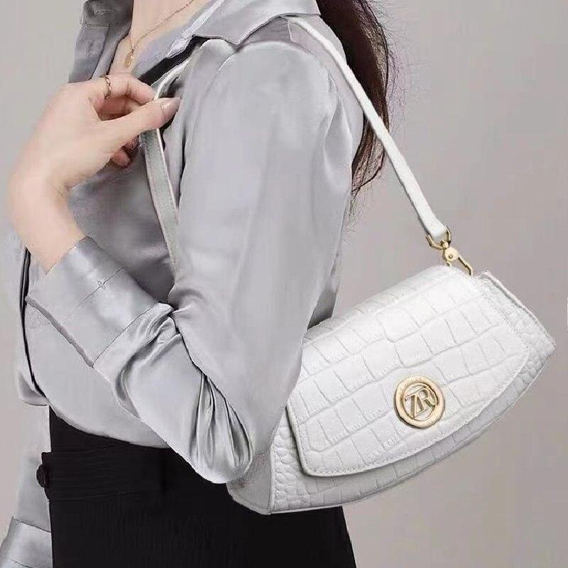 حار ZOOLER جلد البقر سلسلة حقائب اليد امرأة صغيرة موضة حقائب كروسبودي الألوان الكتف حقيبة ساعي جديد # yc235