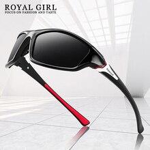 ROYAL GIRL Polarised Driving Sun Glasses Men Polarized Stylish Sunglasses Male Goggle Eyewears Unise