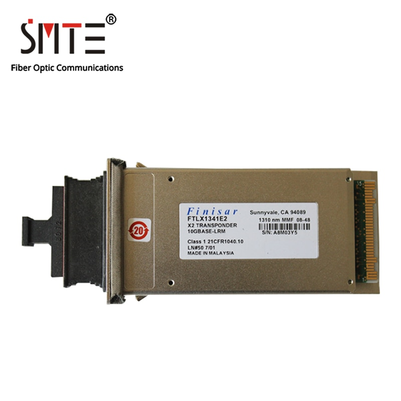 Finisar-وحدة ألياف بصرية FTLX1341E2 10GBASE-LRM 1310nm MMF