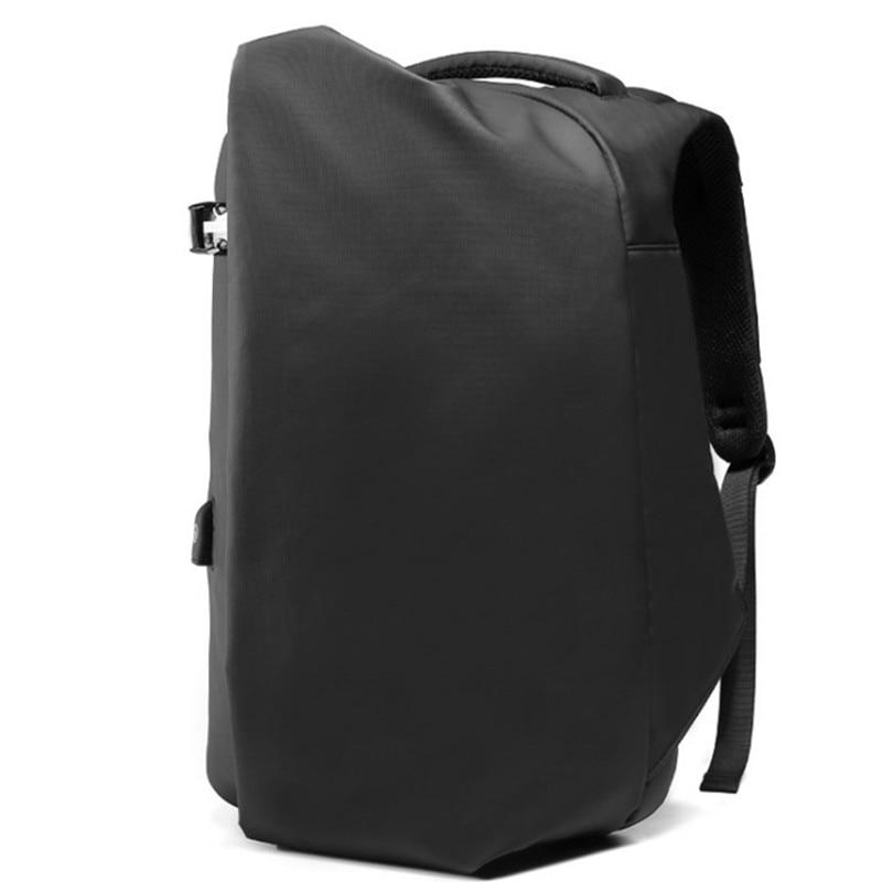 Mochila con carga USB antirrobo para hombre, bolsas escolares impermeables de seguridad para viaje, mochilas para hombres, Tablet, ordenador portátil, adolescentes, 15 pulgadas