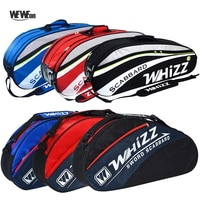2-6Pcs Badminton Racquet Bag Tennis Backpack for Training Jacquard Racket Sports Pack Shoes Men Women Squash Accessories