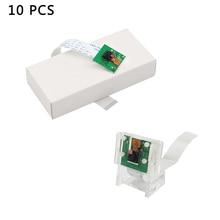 10 sztuk kamera Raspberry Pi 5MP OV5647   kabel płaski   akrylowy uchwyt do Raspberry Pi 4 Model B/3B +/Zero