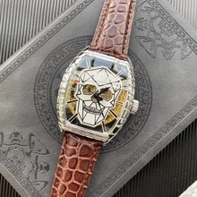 Automatic mechanical watch Top Brand high-end Men Watches Stainless Steel Fashion Calendar Leather S
