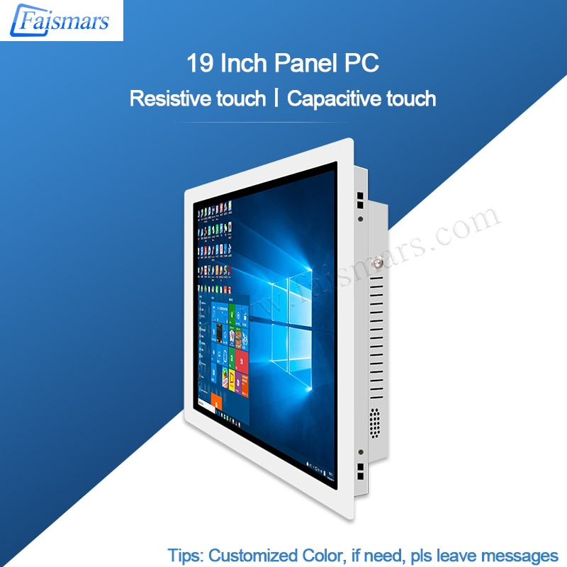 19 Inch All In One PC tablet Computer With I3 4 gen 4120U Industrial Grade Mainboard Industrial PC Face recognition Optional enlarge