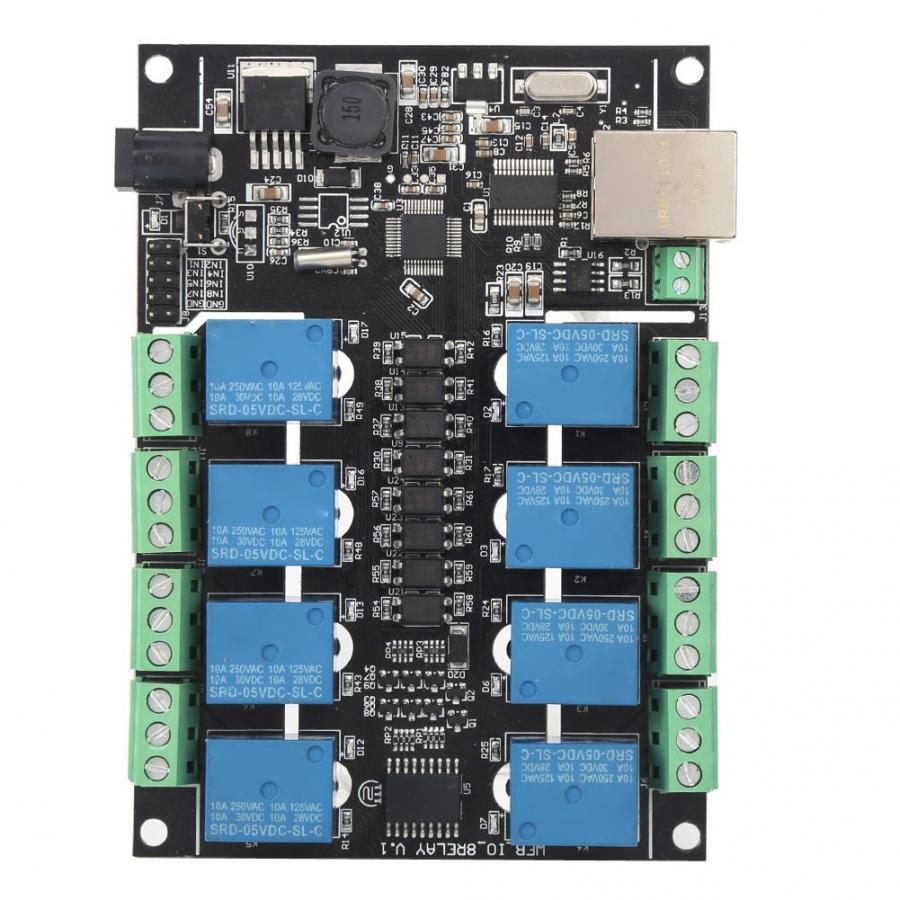 PLC وحة التحكم تتابع الشبكة RJ45 8-قناة NC-1000 برمجة المنطق تحكم ل WiFi التحكم عن بعد مجلس