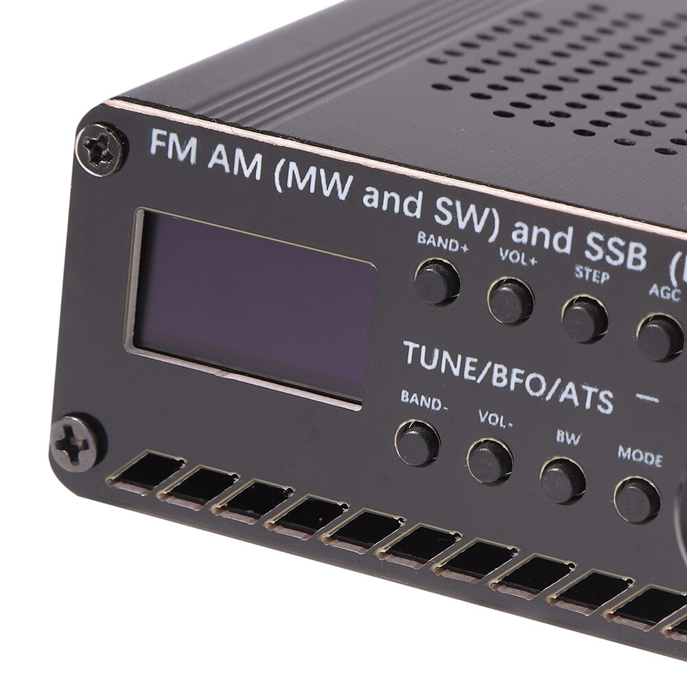Si4732 Portable Radio Portable Radio Receiver Weather Radio SSB All Band Music Player Radio Receiver w/ Antenna enlarge