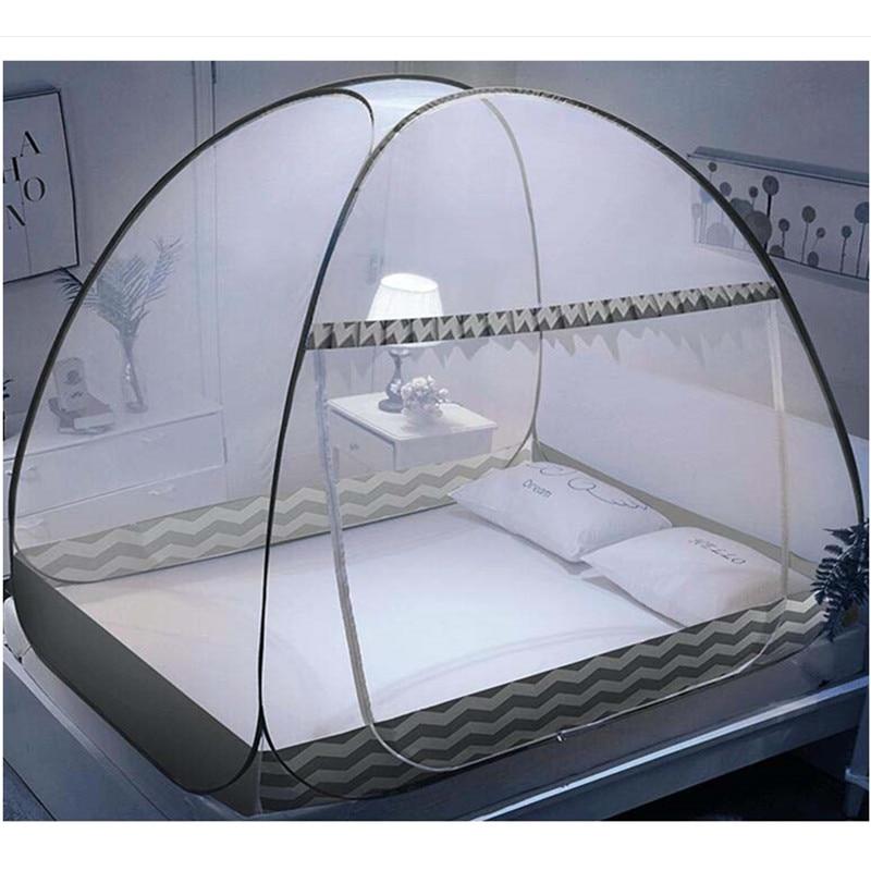 Mosquiteiro monólico de verão, rede para adultos, cama, barracas, portátil, de acampamento, redes dobráveis para casa, 1 peça