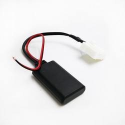 Biurlink estéreo do carro bluetooth jack aux entrada adaptador de áudio cabo para mazda 2 3 5 6