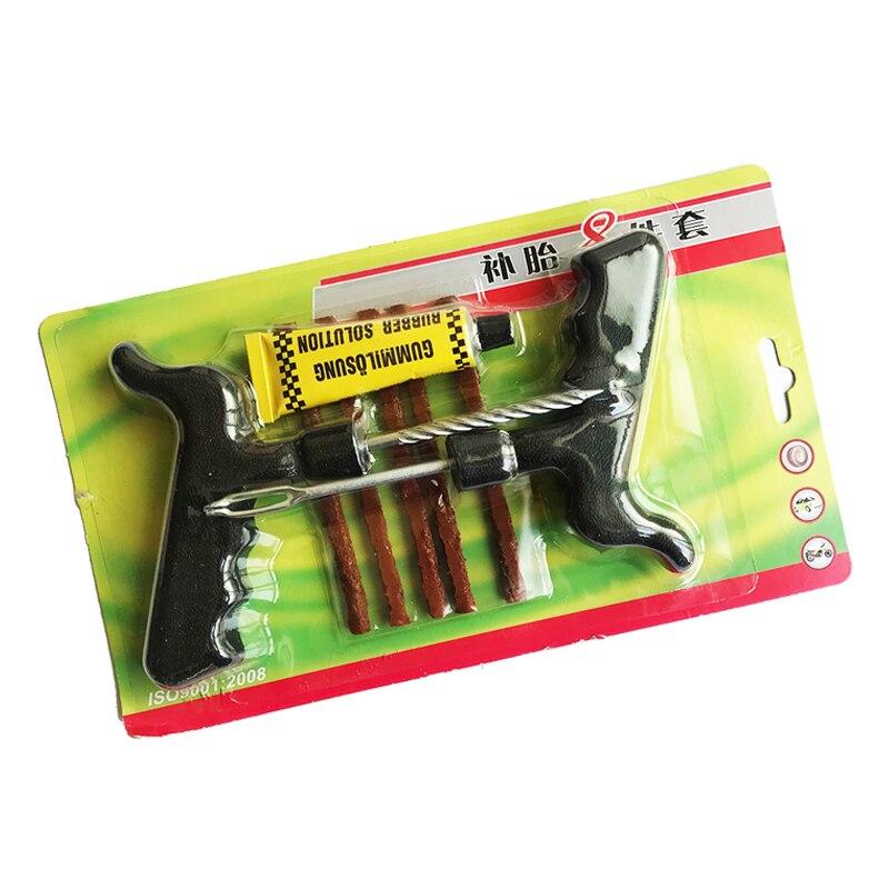 Набор для ремонта автомобильных шин, инструмент для ремонта автомобильных шин, фургонов, цементных шин, прокол, практичные ручные инструмен...