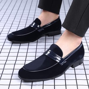 ERRFC/Новое поступление; Мужские модельные туфли коричневого цвета; Модные офисные туфли без шнуровки с закругленным носком; Трендовые кожаные туфли для отдыха; Большие размеры 48, 49