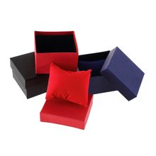 New Bracelet Jewelry Watch Box Case Display Watch Holder With Foam Pad Inside Present Gift For Bangl