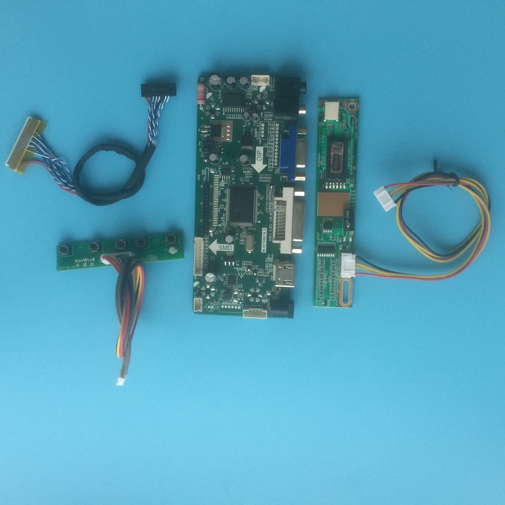 لوحة تحكم لـ LP171WX2-(TL) (A1) (TL) (A2) (TL) (A3) LCD لتقوم بها بنفسك VGA LVDS LED HDMI عدة DVI لوحة 30pin عرض M. NT68676 1440X900