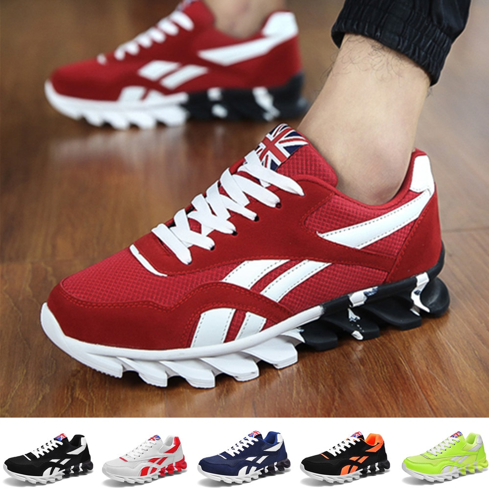 Women and Men Sneakers Breathable Running Shoes Outdoor Sport Fashion Comfortable Casual Couples Gym
