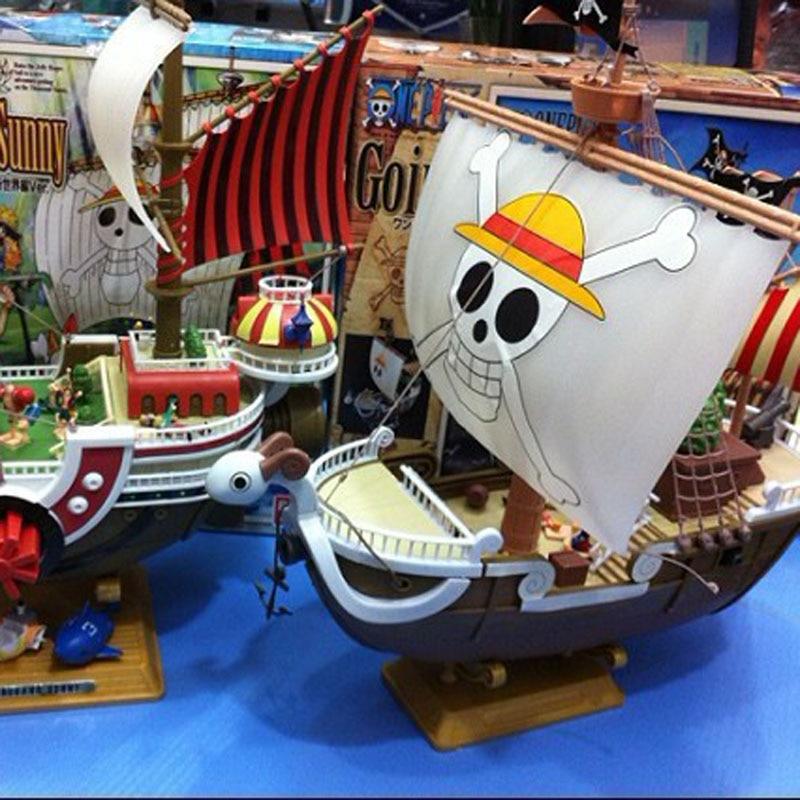One Piece Gehen Frohe Thousand Sunny Luffy Piraten Schiff Modell Boot Action Figure Sammeln Action Figure Sammeln Modell Spielzeug