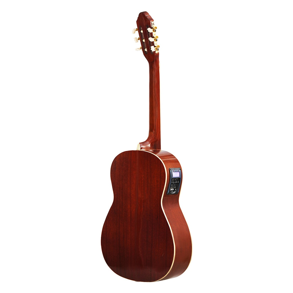 39 Inch Classic Guitar 6 Strings Spruce Classical Guitar With EQ Beginner Kids Musical Gift Instrument With Bag Accessories enlarge