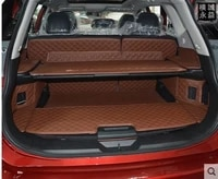 full covered non slip no odor special car trunk mats for nissanx trail waterproof durable leather rugs carpets