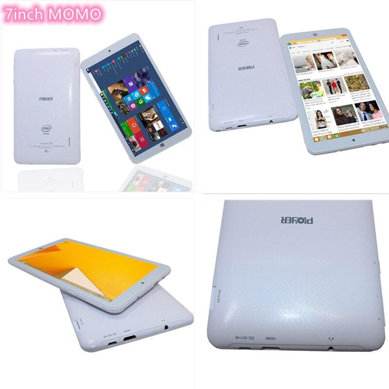 32-bit OS MOMO7W 7 inch Tablet PC Windows 10 Atom CPU Z3735G Quad core 1GB+16GB 1024*600 IPS Singlecameras Wifi HDMI-compatible