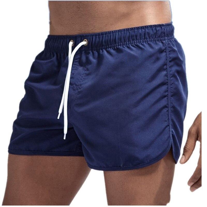 Летние мужские шорты, повседневные шорты для купания, уличные быстросохнущие спортивные короткие брюки, мужские праздничные пляжные шорты