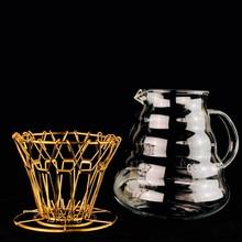 Filtre à café pliable   Nouveau Style, Dripper à café, intelligent filtre à café, tasse, accessoires portables réutilisables