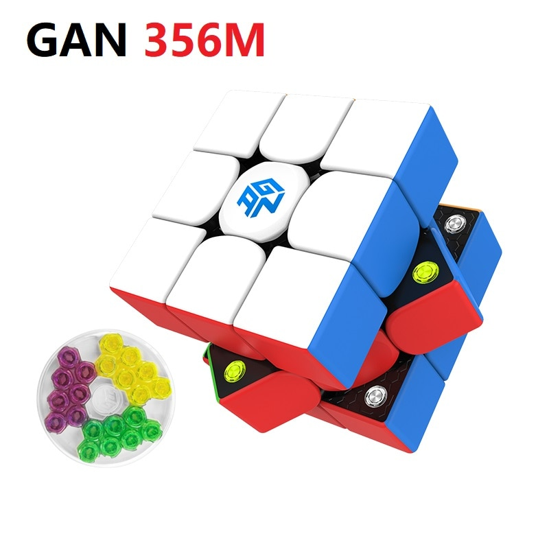 gan 365 air sm 3x3x3 speed cube black color gan air sm magnetic 3x3x3 puzzle speed cube educational learning toys for children GAN 356 M Magnetic 3x3x3 magic cube gan 356 M cubo Magico GAN356M Magnets Speed Puzzle Cube Educational Magnets Cube Toys