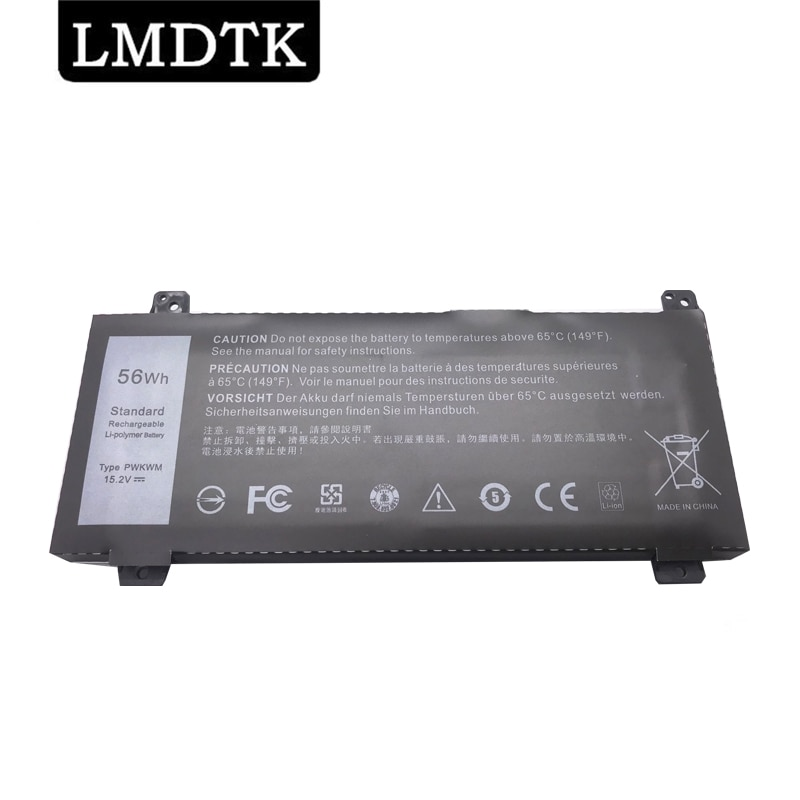 LMDTK New PWKWM Laptop Battery For  DELL Inspiron 14-7466 7467 P78G001 P78G