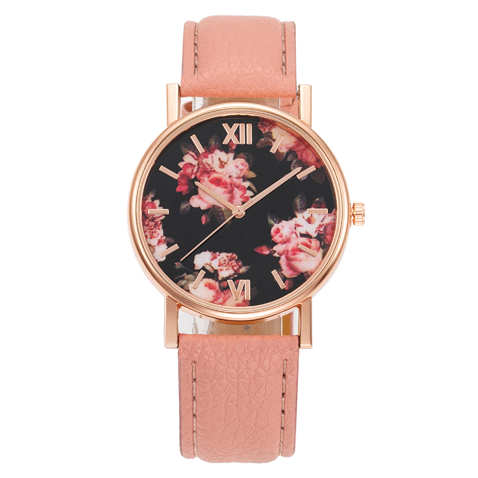 Women Watches Bracelet Retro Printing Watch Ladies Smart Watches Android Watch For Women 2021 Digital Wrist Watch For Ladies