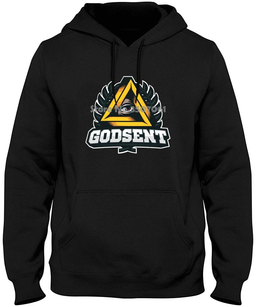 Funny Men Men's Godsent Esports Team Black Hot.fashion Hoodies & Sweatshirts