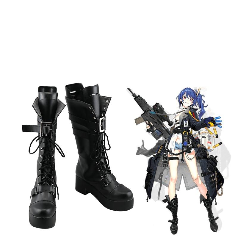 Juego de niñas de primera línea Cosplay zapatos botas K11 Cosplay zapatos Halloween fiesta diario ocio zapatos Anime mujeres Cosplay zapatos