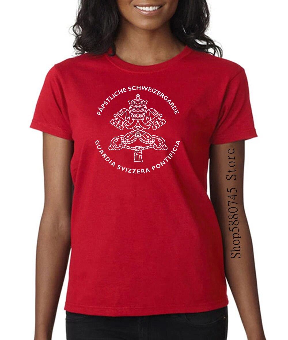 Camiseta rara de la Guardia Vaticana Svizzera, Guardia suiza, Papa Católico Romano, seguridad