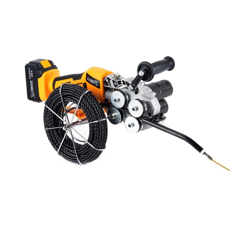 ماكينة لولبة الكهربائية الكهربائية خيوط الأنابيب سحب ودفع قبالة آلة رائدة التلقائي بالكامل باليد خيوط