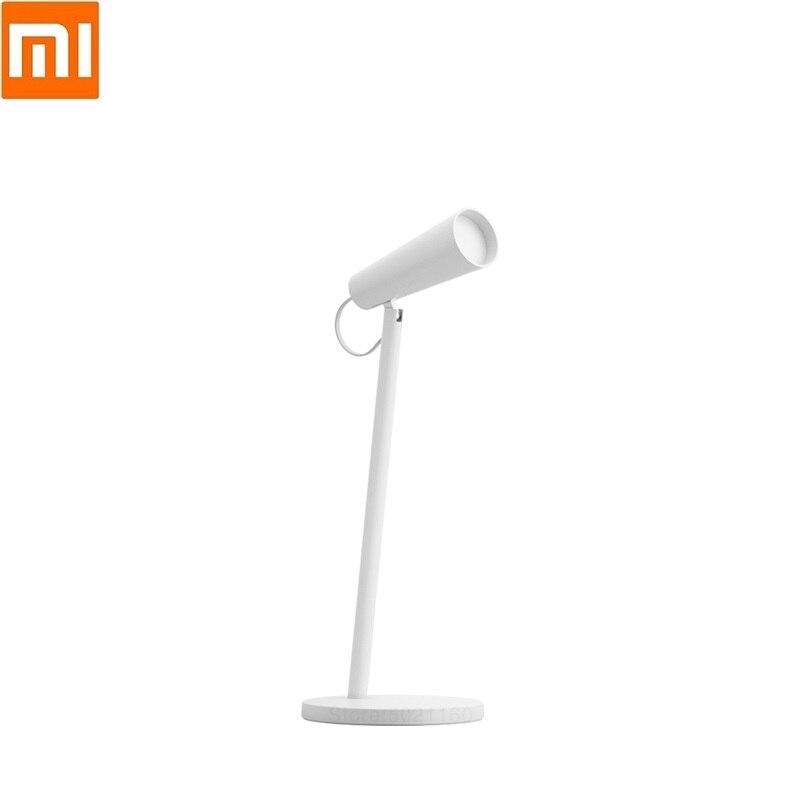 Mi-مصباح مكتبي ذكي LED ، مصباح قراءة محمول USB قابل لإعادة الشحن ، مثالي للقراءة أو المكتب أو طاولة بجانب السرير.