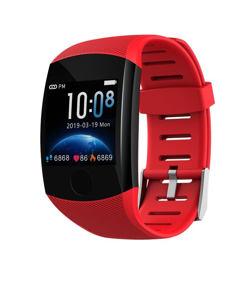 Reloj inteligente Q11 IP67 a prueba de agua Monitor de ritmo cardíaco presión arterial Larga modo de reposo múltiples modos de deporte reloj para Android IOS